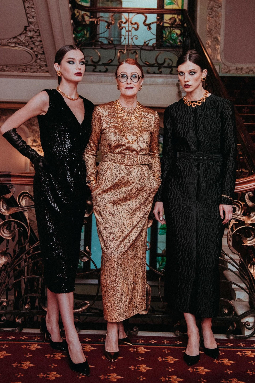 Платье миди (Черное)